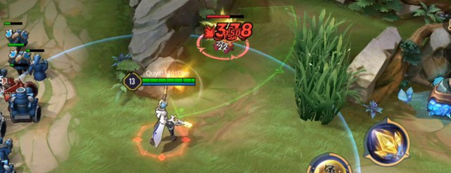 Lien Quan Mobile launches the 16th gunner to shoot through the map and deal multiple targets